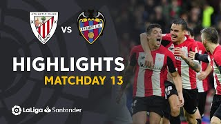 Highlights Athletic Club vs Levante UD (2-1)