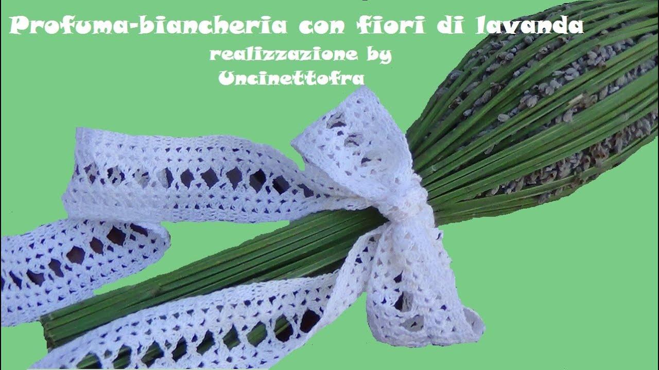 Profuma biancheria con fiori di lavanda youtube for Fiori di lavanda