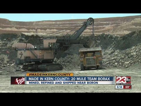 Made In Kern County: Borax
