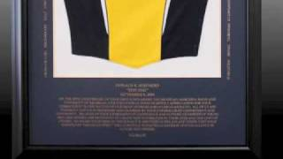 Shadow box framing sports jerseys