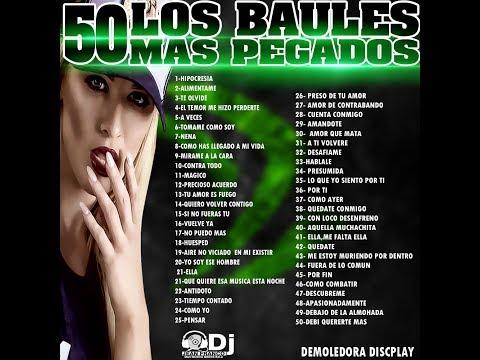LOS 50 BAULES MAS PEGADOS