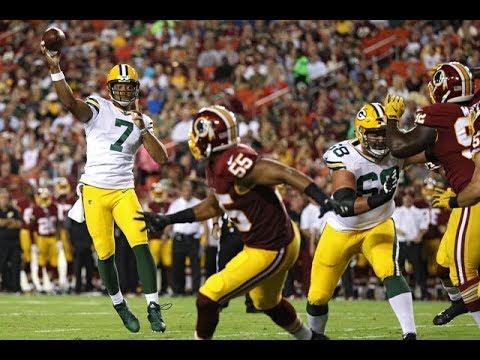 Brett Hundley vs Redskins (Preseason Week 2) - 9/10 107 Yards + TD!   2017-18 NFL Highlights HD