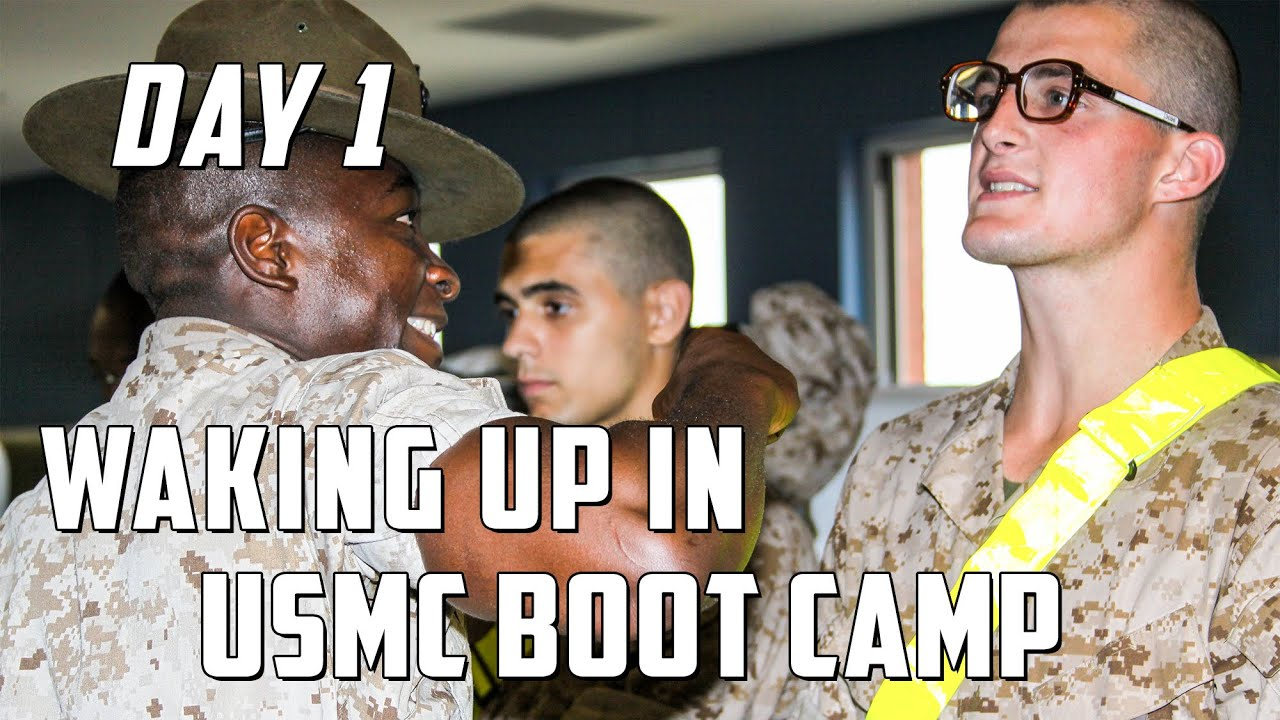 Marine corps boot camp morning routine youtube sciox Image collections
