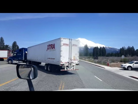 BigRigTravels LIVE! - Stockton to Weed, California - Interstate 5 - May 7, 2017
