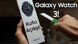 KUTUDA BOMBA EKSİK VAR! - Samsung Galaxy Watch 3 kutu açılımı
