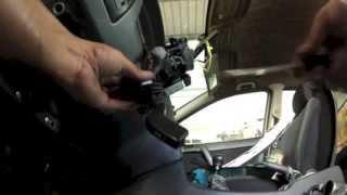 Opel Astra Type G: Dépose comodos de volant (commande clignotants, essui glace, etc.)