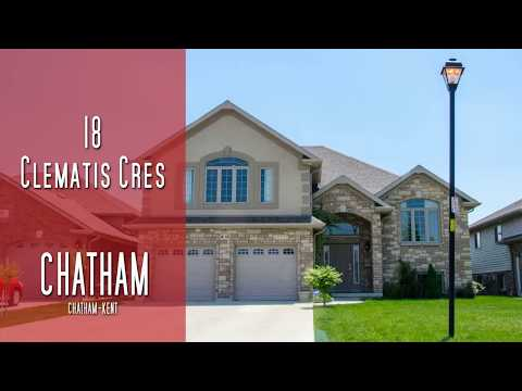 CHATHAM-KENT - 18 Clematis Cres - Chatham [propertyphotovideo]
