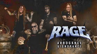Rage - Arrogance And Ignorance (Official Lyric Video)