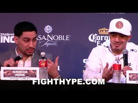 """DANNY GARCIA AND BRANDON RIOS TRADE F-BOMBS AT FIRST MEETING; DISCUSS GAME PLANS TO """"GET IT POPPIN"""""""