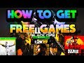 HOW TO GET FREE PRE-ORDERED GAMES (WORKING) XBOX ONE