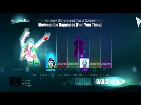 Just Dance 2015 - Movement Is Happiness (Find Your Thing)