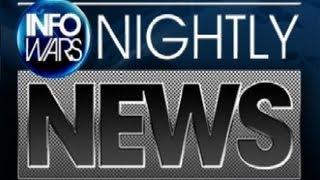 INFOWARS NIGHTLY NEWS | 5 Million Volt BattleProd Developed For Crowd Control (10/2/2012)