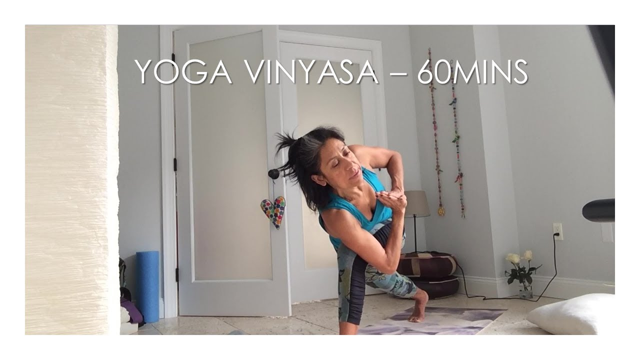 Yoga Vinyasa at Home - Week 5, Covid19 - 04/17/2020 (1 hour length)