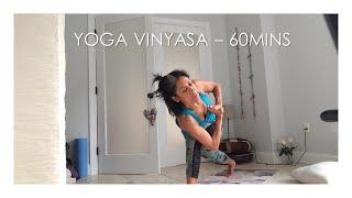 Yoga Vinyasa at Home - Week 5, Covid19 - 04/17/2020 (1 hour length)