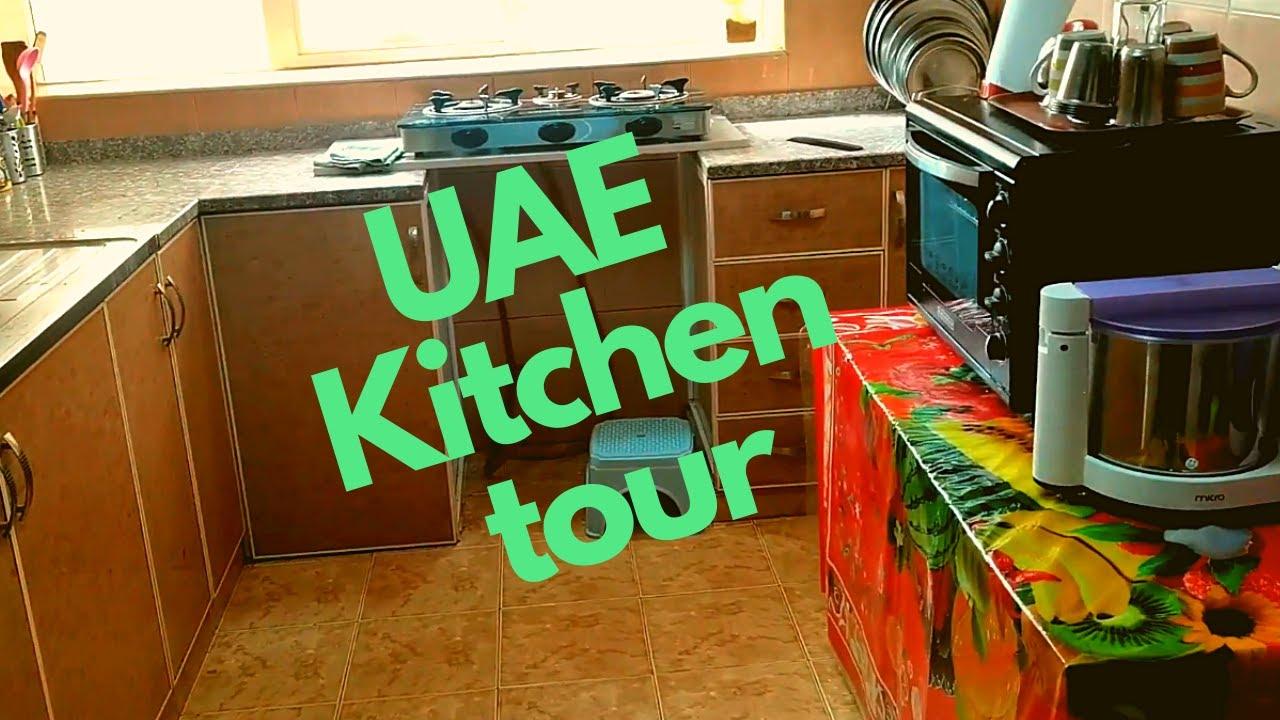 Kitchen Tour in tamil/kitchen organization ideas /UAE kitchen tour ...