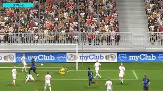 【ウイイレアプリ】女子W杯のアメリカvs日本の決勝戦でゴールを決めた澤穂希を彷彿とさせるルカクちゃん