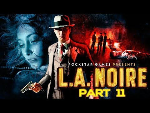 LA Noire Gameplay Walkthrough Part 11 (The Studio Secretary Murder) Let's Play