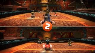 LittleBigPlanet Karting Story Walkthrough Splitscreen Co-op - Part 8 HD [No Commentary]