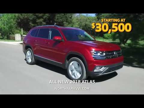 All New 2018 Volkswagen Atlas Now In Stock!