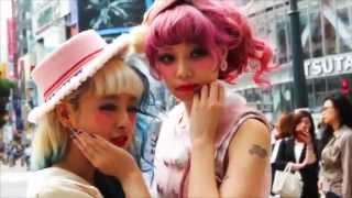 http://tokyo-girlsfashion.com/ 林田沙綾&荒木みほin原宿 渋谷.