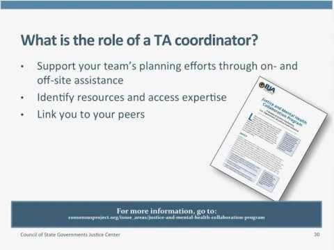 Justice and Mental Health Collaboration Program Applicant Webinar