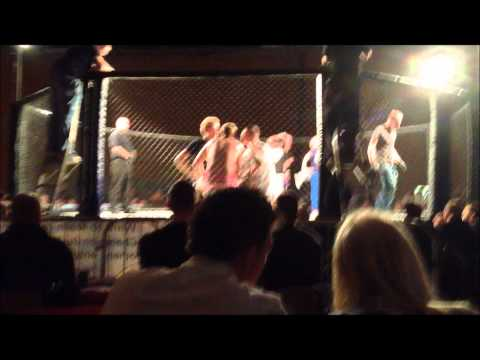 Into The Cage  Jack Prince Harriott Fight.wmv