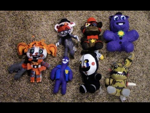 All My FNAF 6 Plushies!