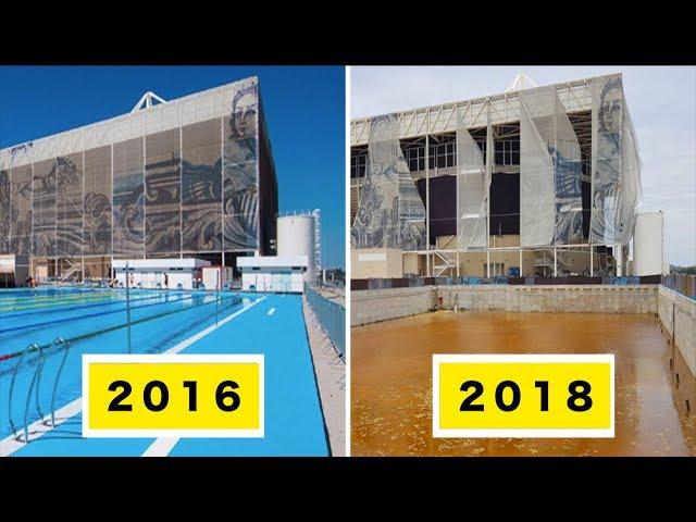 【衝撃】廃墟と化したオリンピック跡地6選