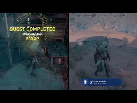 Assassin's Creed Origins Free As A Bird Achievement Episode VI