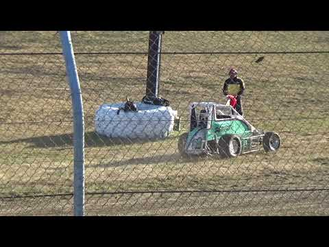 Grays Harbor Raceway, 2018 Fred Brownfield Classic, Night 1, NW Focus Midgets Series Heats 1,2 and 3