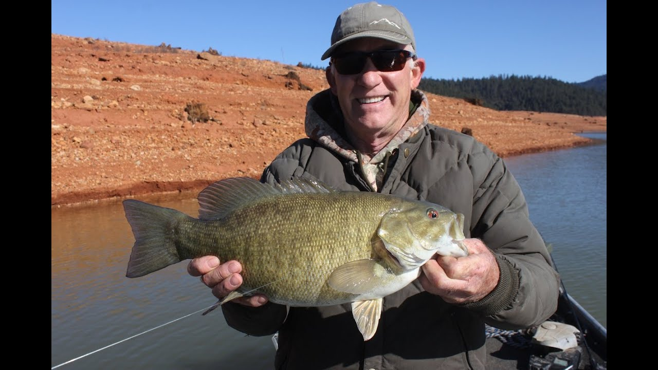 Smallmouth bass fishing trinity lake with steve for Bass fishing youtube