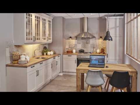 Landelijke keuken met retro patchwork tegels   youtube