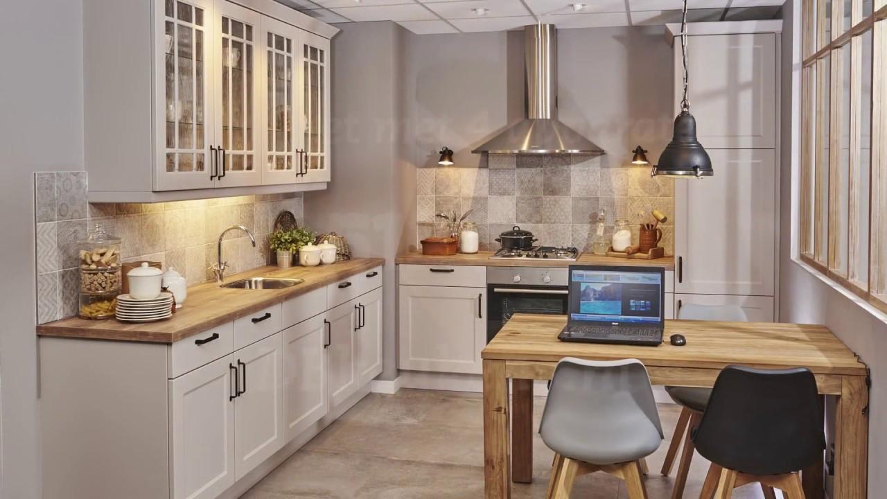 Retro Design Keuken : Landelijke keuken met retro patchwork tegels youtube