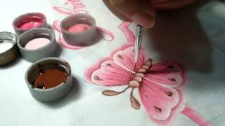 Como pintar borboletas (parte 2)