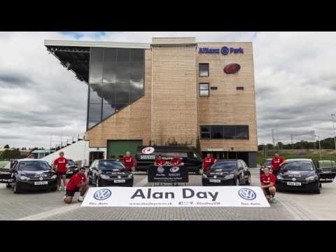 Behind the scenes of our Alan Day/Saracens Photoshoot