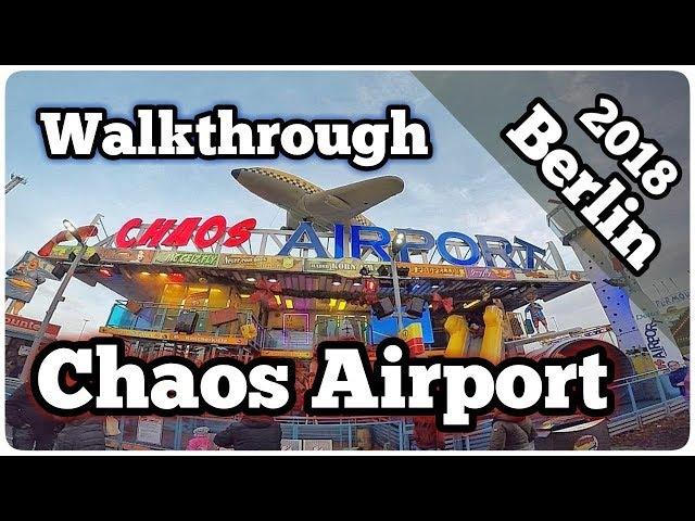 Chaos Airport - Haberkorn (Walkthrough) Video großer Berliner Weihnachtsmarkt an der Allee 2018