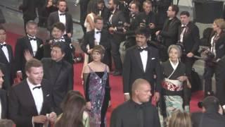『海よりもまだ深く』第69回カンヌ国際映画祭レッドカーペット