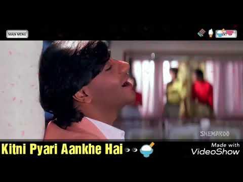Kitna Haseen Chehra Kitni Pyari Aankhe Whattsapp video Love status by Govind Totewad🍫🍦🍨❤