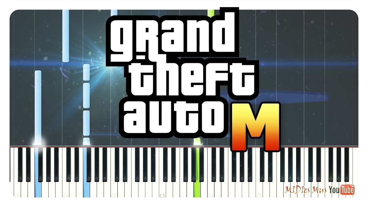 Grand Theft Auto - Theme Songs on Piano (GTA 3, Vice City, San Andreas, 4, 5) thumbnail
