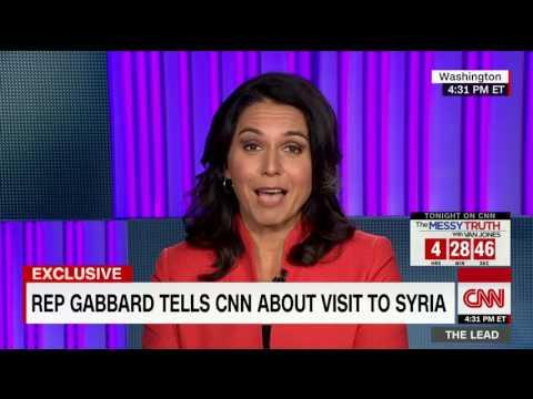 Tusli Gabbard  - USA House of Representative of Hawaii - on meeting with Assad