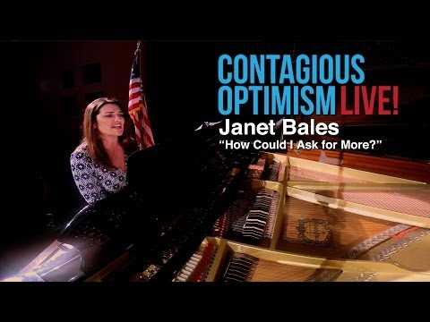 Janet Bales, How Could I Ask For More - Contagious Optimism Live
