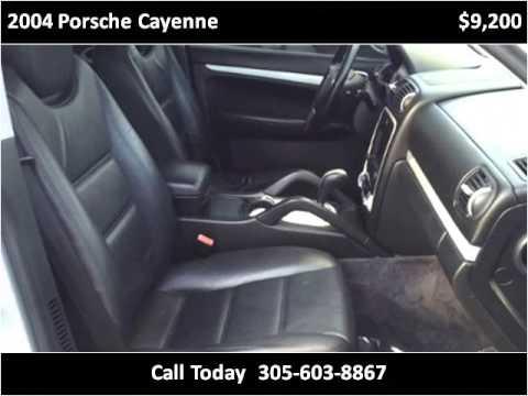 2004 Porsche Cayenne Used Cars Miami FL