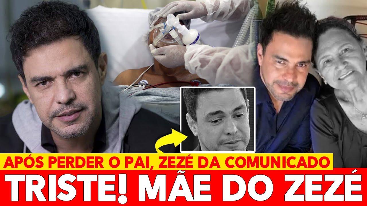 LUTA! APÓS MORTE DO PAI, COUBE A ZEZÉ DI CAMARGO DAR COMUNICADO SOBRE A MÃE AOS 75 ANOS