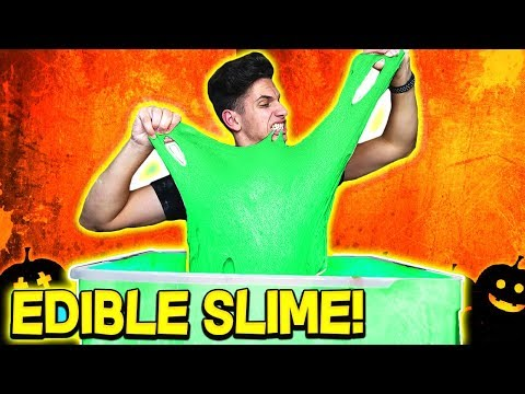 MOOSECRAFT MAKES 100 POUNDS OF EDIBLE SLIME! (DIY HALLOWEEN SLIME CHALLENGE)