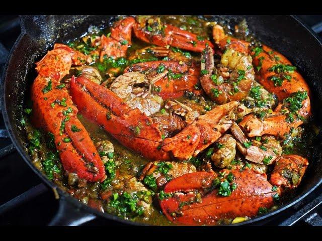Curry Lobster With Shrimp | CaribbeanPot.com