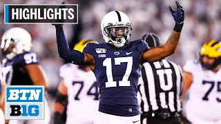 Highlights: PSU Still Undefeated After Downing Michigan | Michigan at Penn State | Oct. 19, 2019