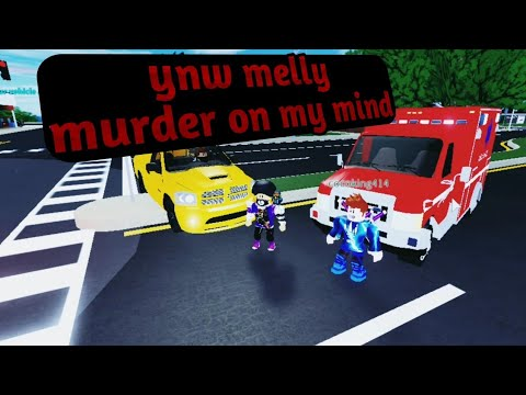 Ynw Melly Murder On My Mind Roblox Music Video Youtube