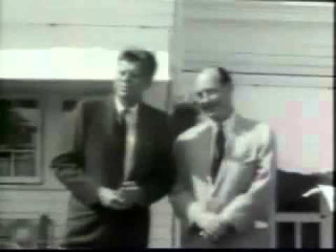 Adlai Stevenson and John F. Kennedy 1960 ElectionWallDotOrg