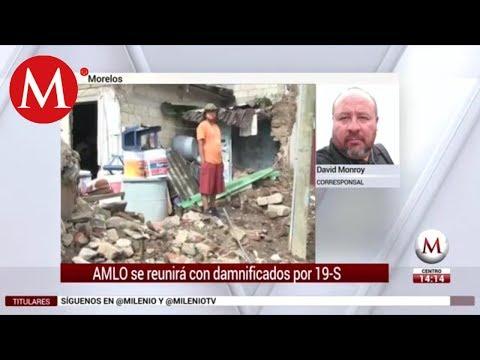 AMLO visitará Morelos y se reunirá con damnificados por 19-S, dice 'Cuau'