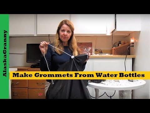 Make Grommets From Water Bottles